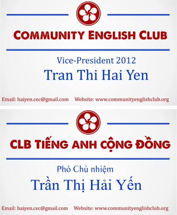 The board of CEC (Part 2)-Miss Hai Yen