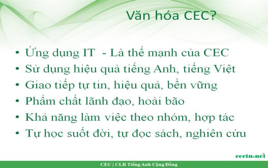 CEC Ideals