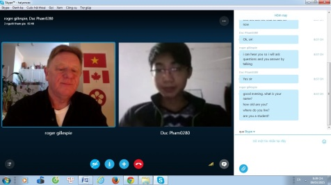 CEC Skype Talk with Foreigners Project has started